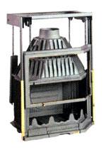 Модель: Призматик угловой двойная увертюра, петли слева